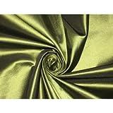 Reine Seide Taft Stoff ~ 137,2cm ~ afrikanischen grün