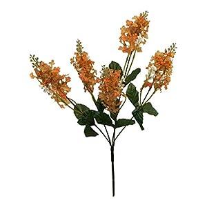 Silk Flower Arrangements Artificial Silk Flowers Lilac Bush Wedding Bouquet Centerpieces Decor Fake Faux #AFFTM