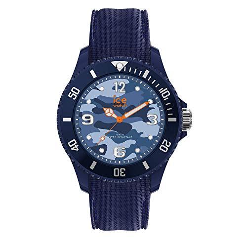 Ice-Watch - Bastogne Blue - Men's (Unisex) wristwatch with silicon strap - 016293 (Medium)