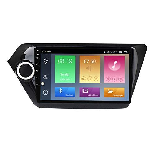 ADMLZQQ Android 10 GPS Navigation Car Stereo Radio,para KIA Rio 2011-2015 HD Pantalla Táctil FM Enlace Espejo Controles del Volante Carplay Integrado+DSP(M300/M500/M600),M500 4+64g