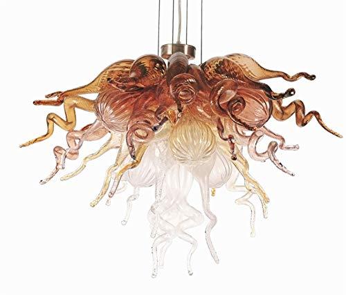 W.Z.H.H.H Lámpara Colgante Lámpara de Arte Vintage Decoración de Arte LED Fuente...