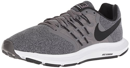 Nike Men's Run Swift Sneaker, White/Black, 6 Regular US