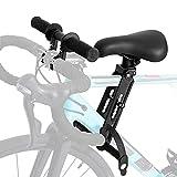 CJHZQYY Asiento de bicicleta para niños para bicicletas de montaña, accesorio para manillar de asiento de niño MTB, manillar extraíble, compatible con todos los adultos MTBs