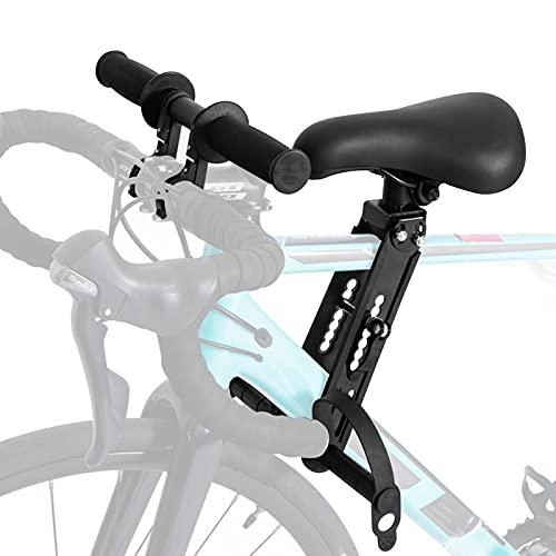 CJHZQYY Asiento de bicicleta para niños para bicicletas de montaña, accesorio para manillar de asien