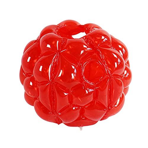 SXMY Bola de Parachoques, PVC Burbuja Fútbol para Adultos Niños Bolas de Parachoques Bola de Hámster Humano para Niños Accesorios Protectores de Juegos Divertidos,001,90CM