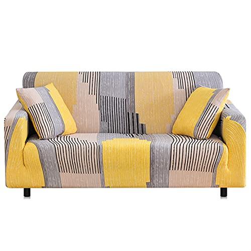 HMGANG Sofá estirado elástico Sofa Sofa Caja de sofá Todo Incluido para la Sala de Estar Cubierta de sofá 1/2/3/4 plazas (Color : 32, Specification : 4 Seater 235 300cm)
