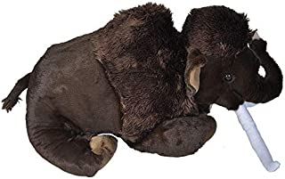 Wild Republic Jumbo NHM Woolly Mammoth Giant Plush Soft Toy, Natural History Museum, Gifts for Kids, 76 cm
