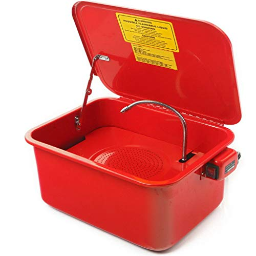 JOMAFA Lavadora de piezas para taller Dispositivo de limpieza y lavado de piezas 15 LITROS