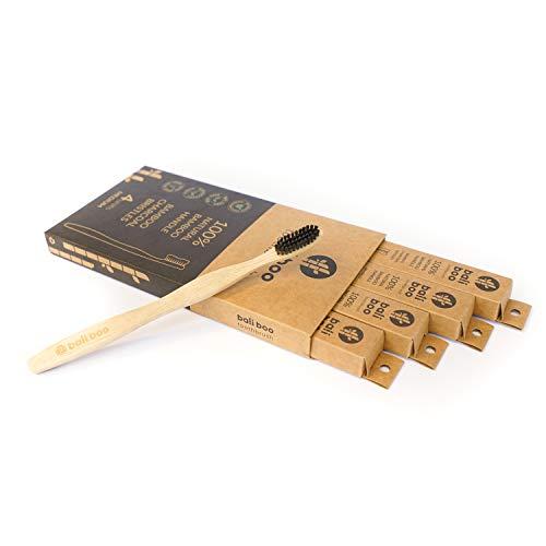 Cepillos de Dientes de Bambú de Bali Boo | Dureza DURA | Pa