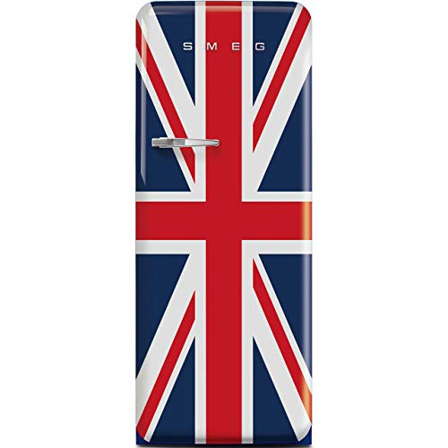 Smeg Right Hand Hinge FAB28RDUJ3UK Fridge - Union Jack - A+++ Rated