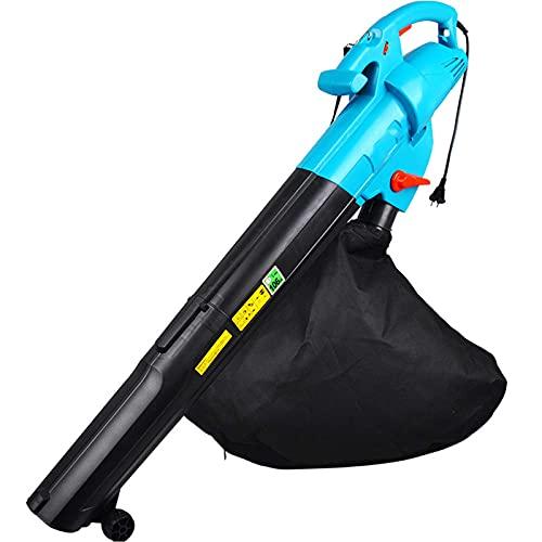 Motor Sin Escobillas del Soplador De Hojas, Silencioso para Soplar La Limpieza De Escombros De Nieve, Camino De Entrada, Terraza, Patio, Jardín