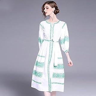 e5153ea19 Amazon.es: Vestidos Bordados - GuangXingZhuangShi / Mujer: Ropa