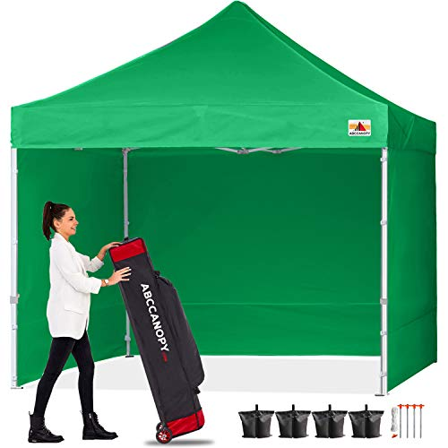ABCCANOPY Pop Up Gazebo With Sides and Door Panels