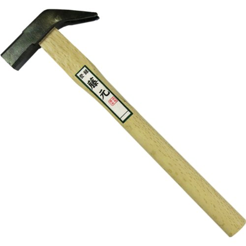 藤元『本職用筋入り角箱屋槌21mm樫材使用尺柄(12264)』