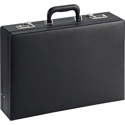 Lorell Expandable Attache Case, Black