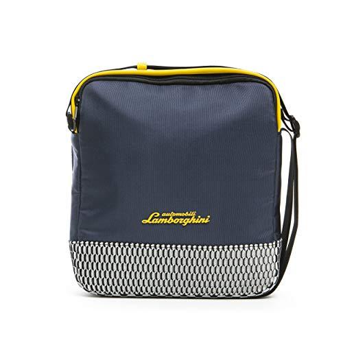 LamborghiniBLU Navy Messenger Bag