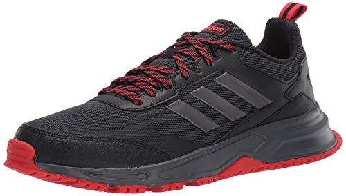 adidas Men's Rockadia Trail 3.0 Running Shoe, Black, 11 M US