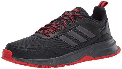 adidas Men's Rockadia Trail 3.0 Running Shoe, Black, 9.5 M US