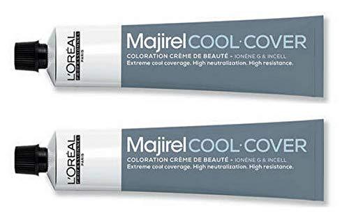 Loreal Majirel Cool Cover 6 dunkelblond 2 x 50 ml Haarfarbe LP Coloration CC 6