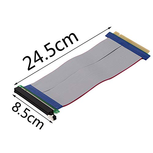 Occus - Cables 10PCS Professional PCI Express PCI-E 16X Riser Card Adapter Ribbon Extender Extension Cable Promotion 15cm - (Cable Length: Other)