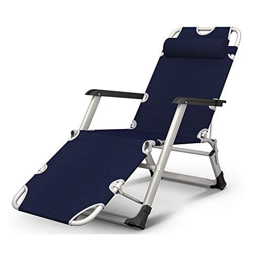 ZXH Plegable reclinable Silla de Camping Gravedad Cero Multiusos Portable for el Respaldo Silla Perezosa Siesta al Aire Libre Jardín Terraza Tumbona (Color : #3)