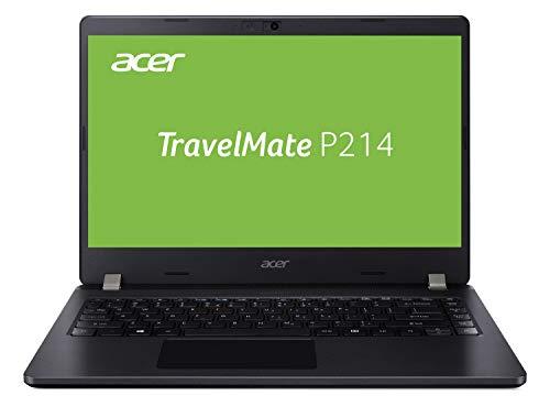 Acer TravelMate P2 (TMP214-52-72Z3) 35,6 cm (14 Zoll Full-HD IPS matt) Business-Laptop (Intel Core i7-10510U, 8 GB RAM, 256 GB PCIe SSD, Intel UHD, Linux (eShell)) schwarz