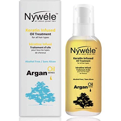 Nywele Keratin Infused Oil Treatment, 3.4 oz -  NYA-OIL
