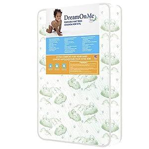 Dream On Me Baby Trand Nursery Center Foam Mattress with Square Corner