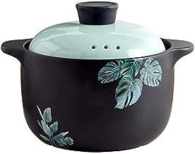 Praktisch Casserole gerechten tajine slow cooker keramische braadpan met 3 gaten en keramische deksel voor inductiekookpla...