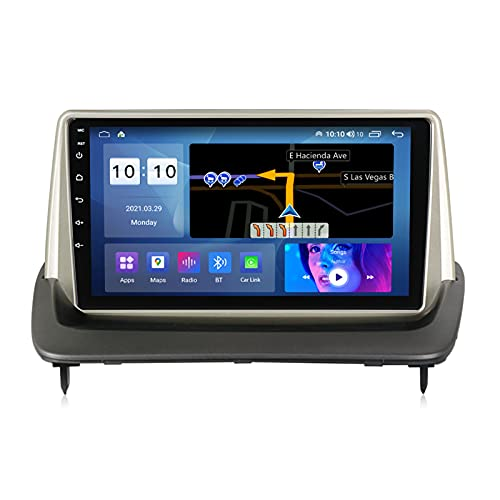 ADMLZQQ Android 10.0 Autoradio Head Unit Navegación GPS para Volvo S40 C30 C70 2004-2012, Pantalla Táctil 9 Pulgadas Bluetooth Am FM Carplay USB RDS DSP Cámara Trasera Ventilador,M600s 8core 6+128g