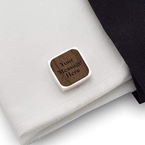 Gifts For Him,Wedding Minimalist Cufflinks Paper Plane Wooden Engraved Cufflinks Laser Engraved Wooden Cufflinks Design Wooden Cufflinks