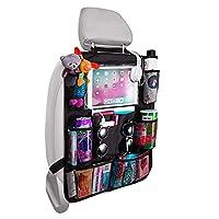 🚗 【Milti Aufbewahrungstaschen】 --- Dieser Auto-Rücksitz-Organizer wurde entwickelt, um Ihre oder Ihre Sachen perfekt aufzubewahren und Ihnen eine ordentliche und geräumige Umgebung im Auto zu bieten. Es enthält 8 Taschen zur Aufbewahrung von Flaschen...