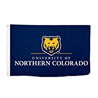 Desert Cactus University of Northern Colorado NCAA 100% Polyester Indoor Outdoor 3 feet x 5 feet Flag (Style 5a) [並行輸入品]