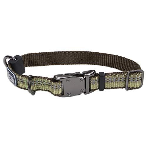 Coastal Pet Coastal K9 Explorer Green Reflective Adjustable Collar S, Adjustable