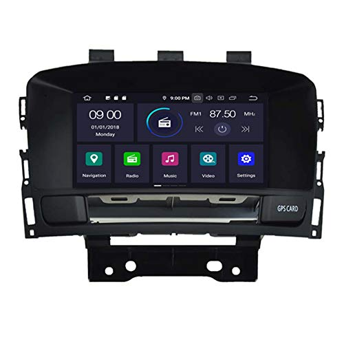 Autosion Android 10.0 Autoradio 7 Zoll Touchscreen, 8-Core, Sat-Navi, 4 GB + 64 GB GPS-Navigation, Autoradio für Opel Astra J 2010–2017, Buick Excelle XT GT, Buick Verano