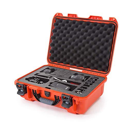 Nanuk 925 Waterproof Carry-on Hard Case with Foam Insert for Canon, Nikon - 1 DSLR Body and Lens/Lenses - Orange