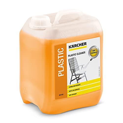 Krcher Plastic Cleaner - 5L Canister - Bote limpiador detergente de lavado para coche 5l, agua a presión