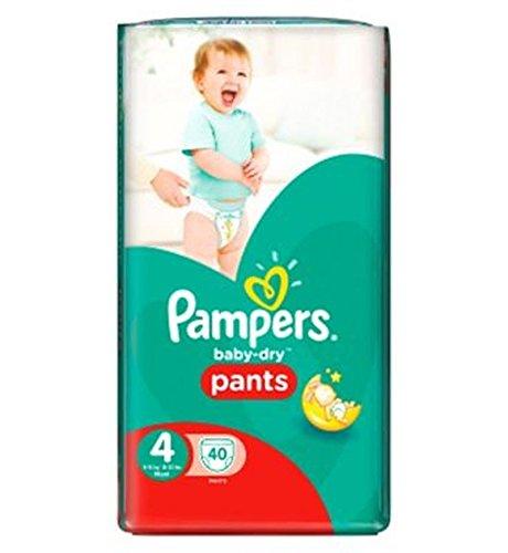 Pampers Baby-Dry Hose Größe 4 Essential Pack 40 Windeln