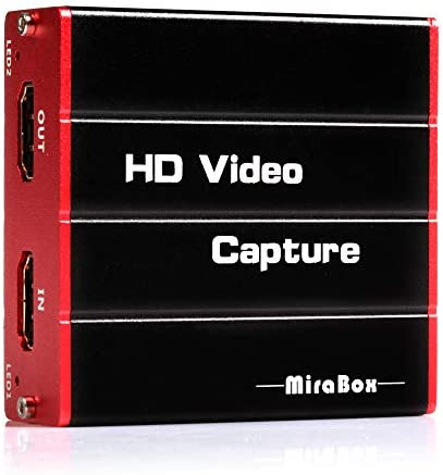 Mirabox USB3 0 HDMI Video Capture Card 1080P 60FPS HD Game Capture Device Cam Link with HDMI product image