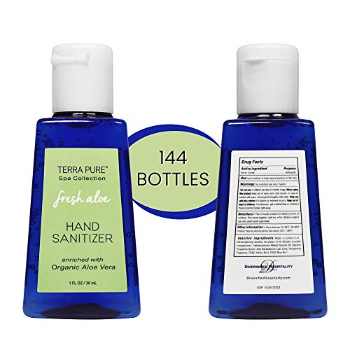 Terra Pure Hand Sanitizer Gel | Mini Hand Sanitizer Bulk |...