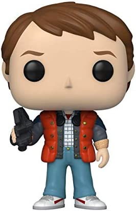 Funko Pop Movies Back to The Future Marty in Puffy Vest product image
