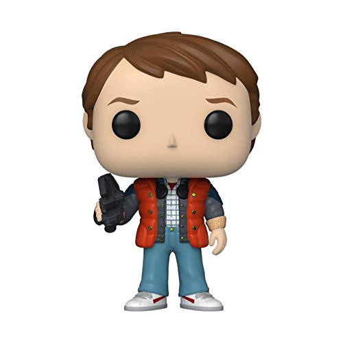 Funko- Pop Movies: Back to The Future-Marty in Puffy Vest Figura da Collezione, Multicolore, 48705