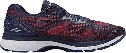 ASICS Gel Nimbus 20 - Zapatillas para correr y senderismo para hombre, Azul (Azul índigo, azul índigo/rojo intenso), 48 EU
