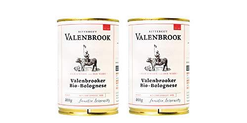 Rittergut Valenbrook Sauce Bolognese vom Angus Rind, 2x 400g Feinkost Highlight von LAUX