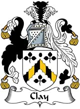 Clay Family Crest Coat of Arms Mouse Pad