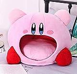 APcjerp Kirby de Peluche de Juguete de Felpa Suave Dormir Cap de Kawaii del Animado Juego de Kirby de Almohadas for Dormir Suave casa del Animal doméstico muñeca de Juguete