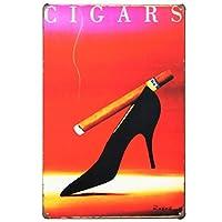 [ファン] Fun! ブリキ看板 タバコ ハイヒール ポスター ファッション インテリア アート