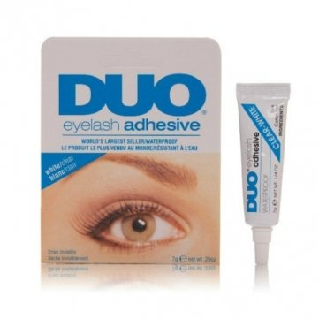 DUO White Waterproof False Eyelash Adhesive Eye Lash Glue by NBNA100