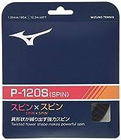 MIZUNO(ミズノ) 硬式テニス ストリングス P-120S(ピー120エス) ブラック 63JGH960 09:ブラック F