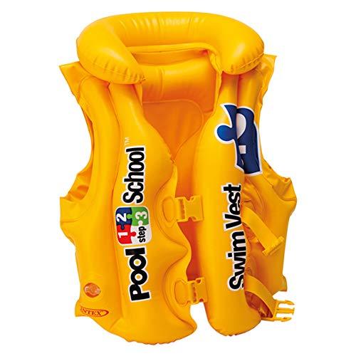 Intex Schwimmhilfe - Deluxe Schwimmweste - Pool School Step 2 - Für 3-6 Jahre